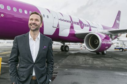 WOW Air CEO Skuli Mogensen has brought his low-cost Trans-Atlantic service to BWI Thurgood Marshall Airport.(Handout photo)