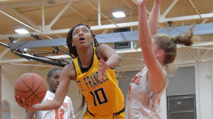 St. Frances defeats McDonogh, 50-44, in girls basketball to wrap up No. 2 IAAM playoff seed