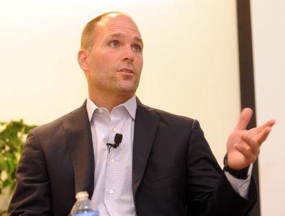 Ravens assistant general manager Eric DeCosta.