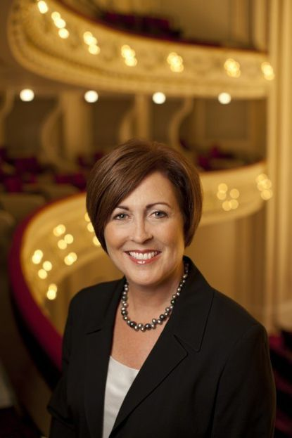 Deborah F. Rutter, who will become president of the Kennedy Center Sept. 1, 2014