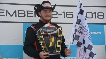 Peter Ensor, a Finksburg native and 2016 Gerstell Academy graduate, won the Teen Mazda Challenge on Sept. 15, 2018 in Austin, Texas. Ensor netted $2,500 in prize money for his win.
