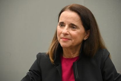 A political action committee that supported Baltimore mayoral candidate Mary Miller is shutting down and returning unspent money after a leaked email revealed a strategy to target white voters in a majority-black city. Miller is shown in a Jan. 6, 2020, photo.