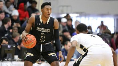 John Carroll's Immanuel Quickley, shown here in action in Massachusetts last week, scored 21 points Wednesday night, leading the Patriots over C. Milton Wright, 82-44.