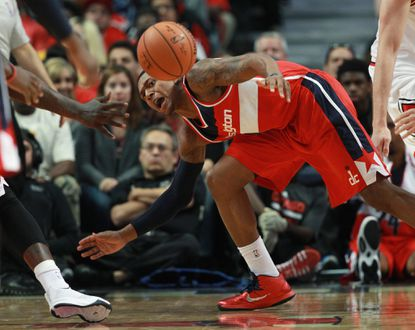 Wizards' Beal staying positive about wrist injury