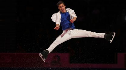 Jason Brown aims to revolutionize his figure skating career by landing a quad in competition