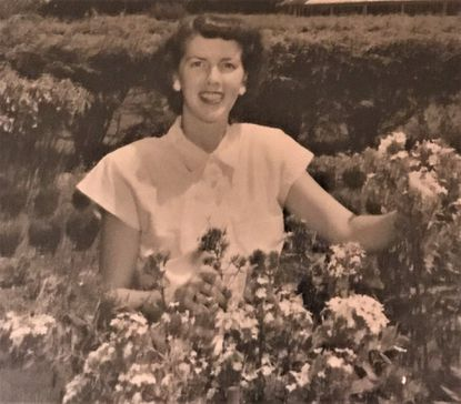 Helen M. Langrall volunteered weekly for more than 30 years at the Greater Baltimore Medical Center and what is now the University of Maryland St. Joseph Medical Center.