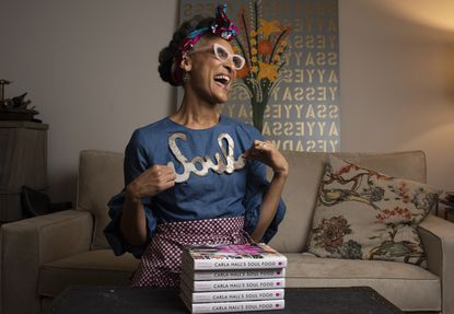 """Celebrity chef Carla Hall will be in Baltimore Thursday for """"Celebration: A Soul Food Supper with Chef Carla Hall."""""""