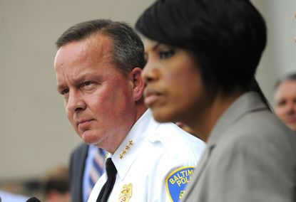 Baltimore Mayor Stephanie Rawlings-Blake wants to make interim commissioner Kevin Davis the city's next permanent police chief.