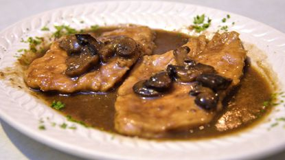 Next, a recipe for slow cooker chicken Marsala, which is one of my favorite chicken dishes that I don't cook nearly often enough.