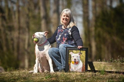 Devoted pet owners turn to Anne Arundel artists to capture their companions on canvas