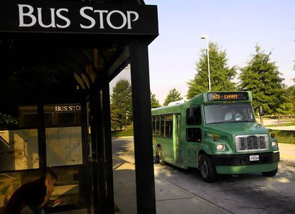 Soon riders on Howard Transit will be able to use their phone or computer to look up how many minutes away the next bus is from their stop.