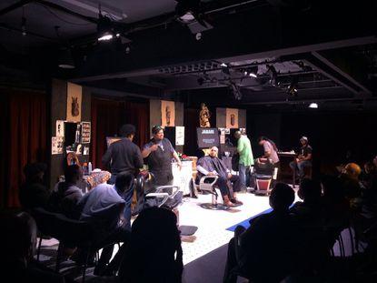 "A November performance of ""Fades & Fellowship"""