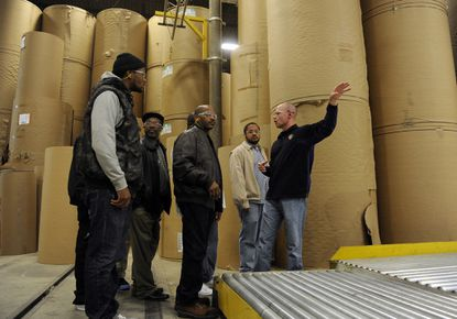 Manufacturing boot camp matches trainees with jobs