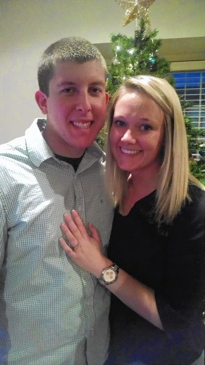 Michelle Huber and Nicholas Monroe are engaged to be married. - Original Credit: Submitted Photo