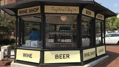 Tiny Wine Shop, Garden Party kiosk add a touch of Europe to Hampden's Rotunda