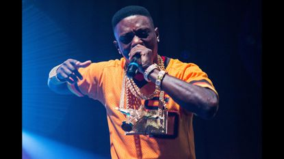Boosie and Glizzy bring beautiful street rap defiance to RoFo, pay tribute to Young Moose, Lor Scoota, and Freddie Gray