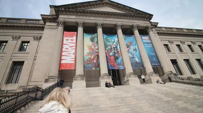 Tickets for Two to Marvel: Universe of Super Heroes at the Franklin Institute in Philadelphia.