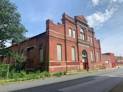 """The old Baltimore Traction Company Car Barn will soon undergo a $15 million renovation. """"The project will rehabilitate the existing building into mixed commercial use, featuring retail, offices, and community programming,"""" according to the Maryland Historical Trust."""