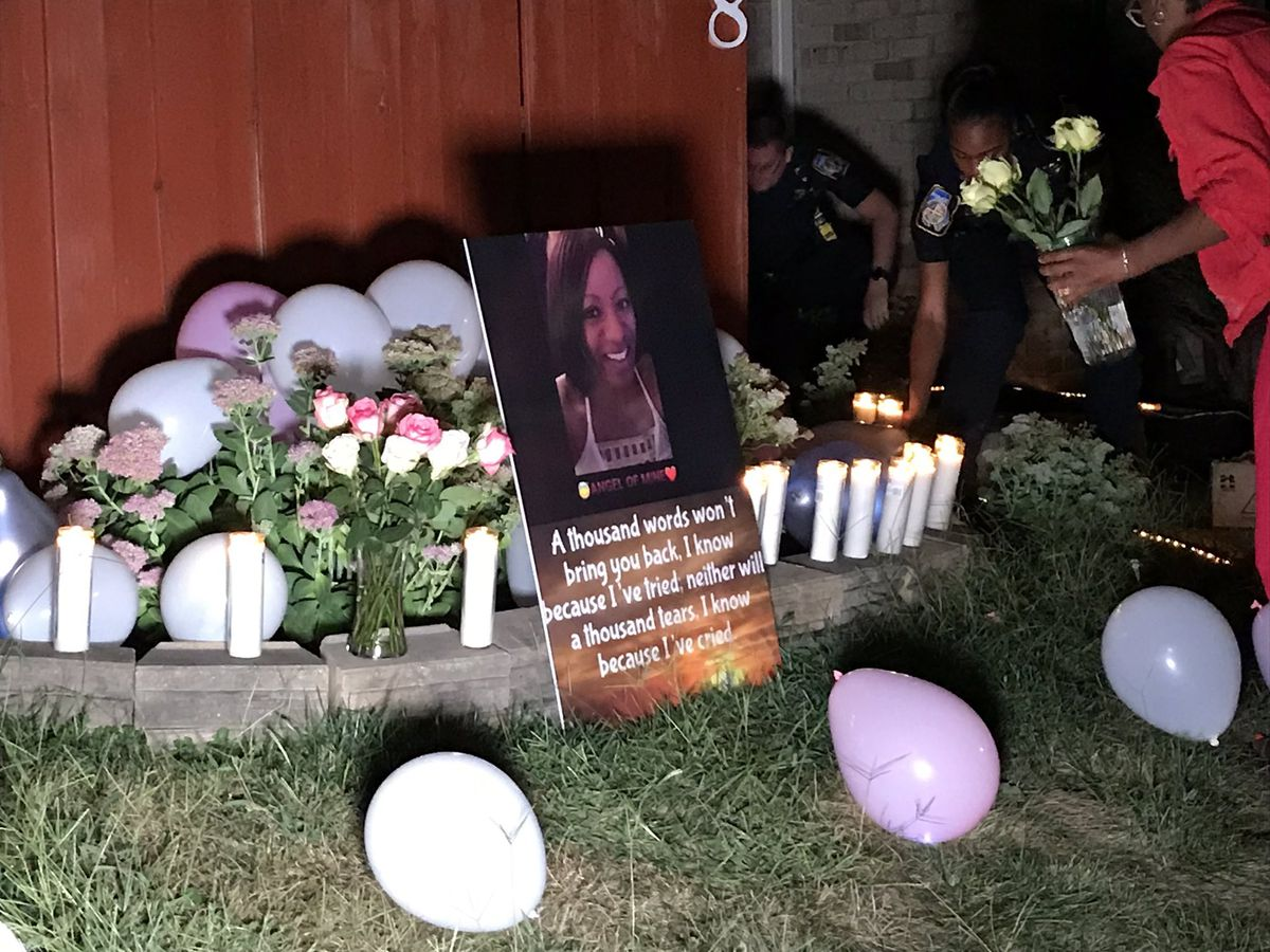 'We draw on her spirit': Windsor Mill woman Charla Melvin, reported missing last week, is remembered at vigil