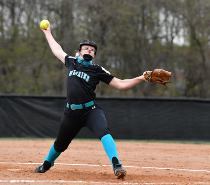 Patterson Mill pitcher Dakota Pitts shut out Bel Air on four hits Wednesday as the Huskies improved to 6-0.