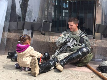 Picture showing 'heartwarming' Baltimore scene goes viral on Reddit