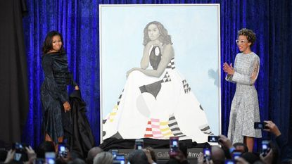 Baltimore basked in all manner of reflected glory this year, and no one shone a more positive light on Baltimore than painter Amy Sherald, whose portrait of former first lady Michelle Obama debuted to mixed reviews in February at the National Portrait Gallery.