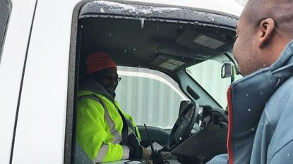Howard County crews respond to snowfall; police say 13 accidents reported, no injuries