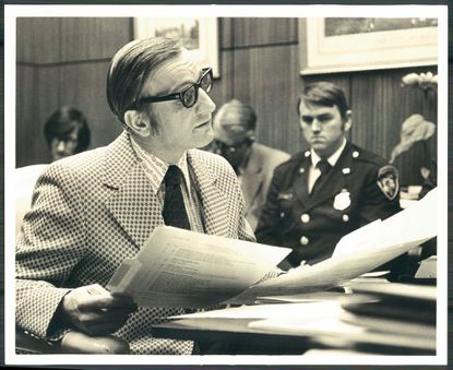 Richard O. Motsay Sr., shown in 1978, was a Baltimore City District Court judge from 1978 to 1995.