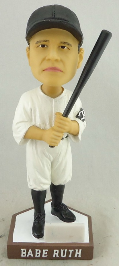 The Bowie Baysox will give away this Babe Ruth Baltimore Orioles bobblehead doll to the first 1,000 fans on Sunday, July 19.