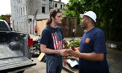 Baltimore should be grateful for conservative group's cleanup efforts.