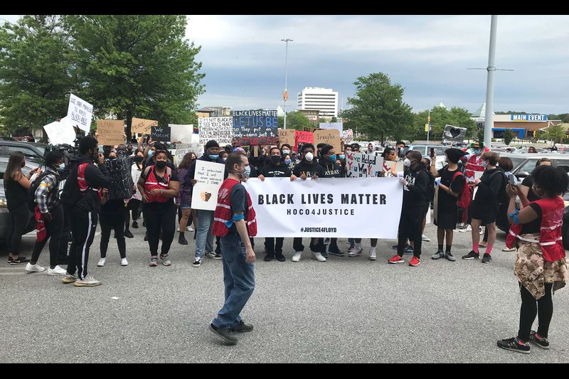 Youth-led group behind Columbia's Black Lives Matter protest discusses what  it takes to organize in 2020 - Baltimore Sun