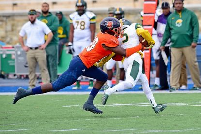 Linebacker Rico Kennedy is one of Morgan State's top defenders.