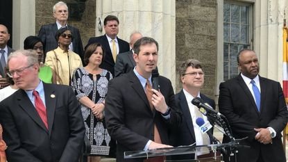 Baltimore County Executive Johnny Olszewski Jr. on Thursday called on Maryland lawmakers to reconsider legislation that would provide additional state funding for school construction.