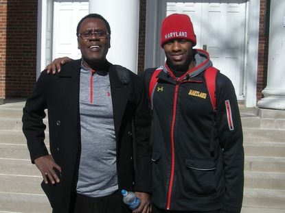 Terps forward Jon Graham and his father Ernie have both learned from each other