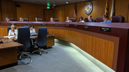 The Anne Arundel County Council voted 4-3 Friday to pass Pittman's $1.7 billion budget largely unchanged. Republican members voted against it for being too large and increasing taxes.