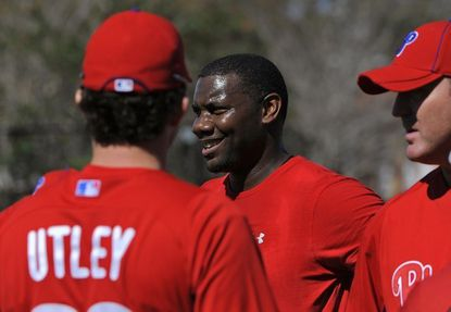 Phillies stars Ryan Howard and Chase Utley could be lost for a big chunk of the early season.