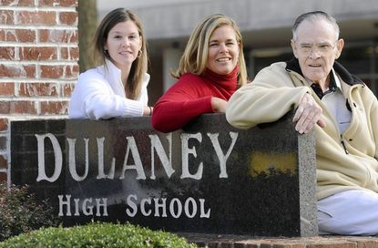 Dulaney Hall of Fame adds magnificent seven