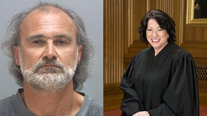 Left: Edward Strieff; Right: Justice Sonia Sotomayor