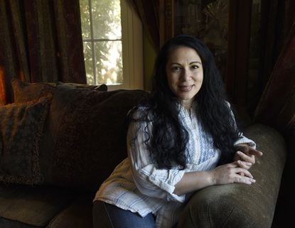 "Susan Muaddi Darraj recently won an American Book Award for her collection of short stories ""A Curious Land: Stories from Home,"" which draws on her Palestinian heritage."