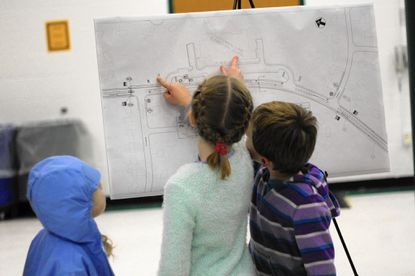 Centennial Lane supports three Howard County public schools. Adding bike lanes could compromise safety, residents said.