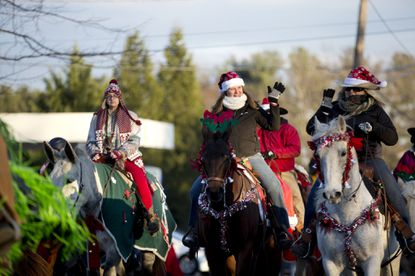 The Lisbon Christmas Parade in Woodbine will be at noon Saturday, Dec. 14.