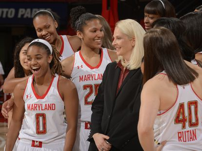 Brenda Frese and her Terps will only end the season with smiles if they make it to the Final Four in New Orleans.