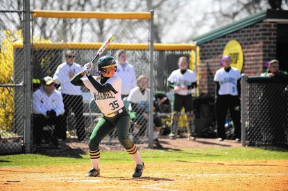 McDaniel sophomore Tayler Hishon went 6-for-7 with five doubles and eight RBIs in the Green Terror's doubleheder sweep over Swarthmore on Tuesday.