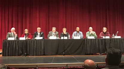The Emergency Commission on Sixth Congressional District Gerrymandering heard from citizens at a public hearing at Frederick Community College on Monday, Jan. 14.