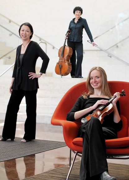 Trio 180 will perform chamber music ranging from Beethoven to contemporary pieces at the May 4 Sundays at Three concert.