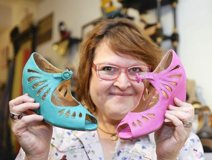 Ma Petite Shoe owner Susannah Siger is among area small business retailers who are hopeful that Small Business Saturday will bring shoppers into their stores.