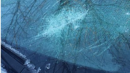 Someone shattered the windshield of Greenbrier resident Ray Infussi's car overnight on Jan. 1-Jan. 2, one of a string of vandalism incidents that occurred in the community that night, according to Infussi and other residents.