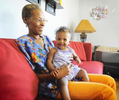 -Madie Green is a self-employed family child care provider who has no set retirement plan. She also is raising her two grandchildren and is worried about her ability to eventually retire.
