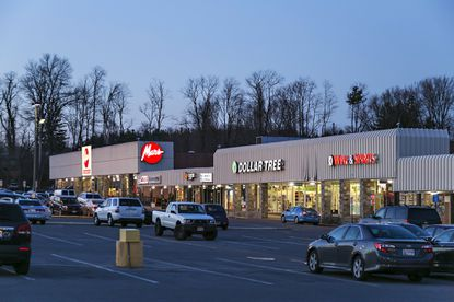 Retail developer Greenberg Gibbons has acquired this shopping center at 11953 Reisterstown Road for $35 million.