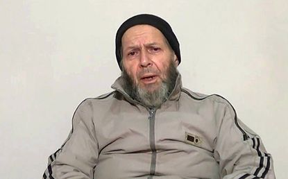 Government contractor Warren Weinstein, a 72-year-old Rockville resident, is shown in a video while being held captive by al-Qaida militants.